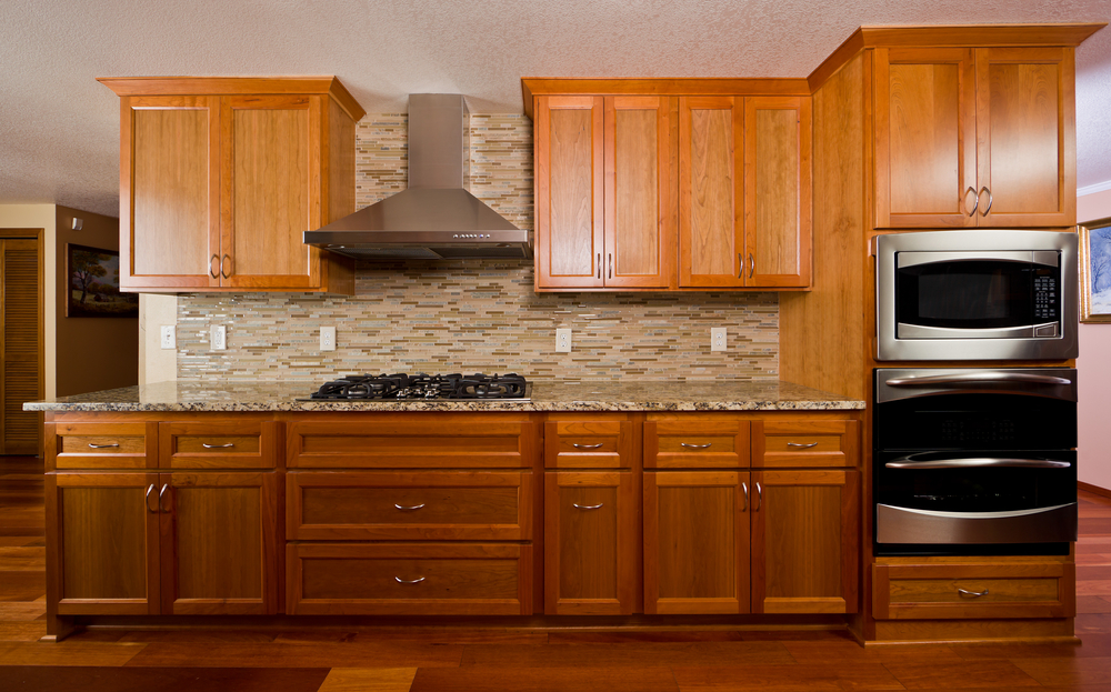 Flat Panel Kitchen Cabinetry