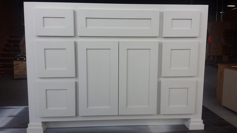 White Bathroom Vanity Cabinets